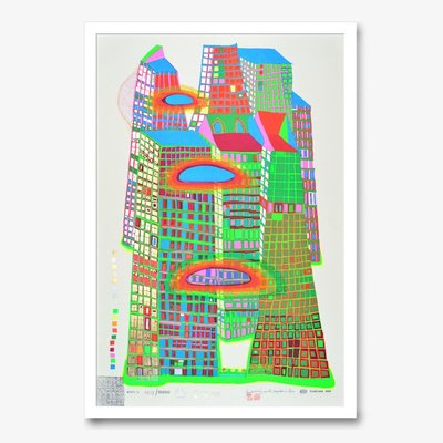 Hundertwasser artworks and editions for sale