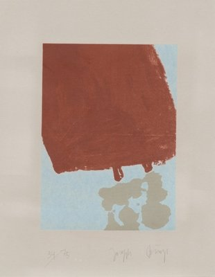 Joseph Beuys Grafik Schwurhand: Mit Fett gefüllte Skulptur