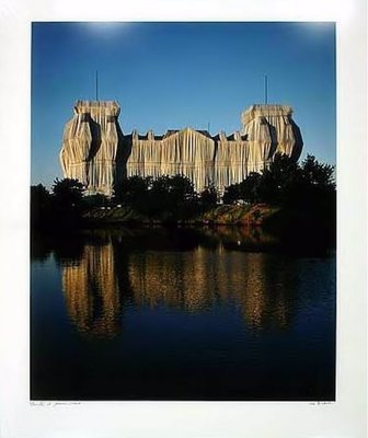 Christo and Jeanne-Claude Reichstag Berlin II Wrapped Photograph