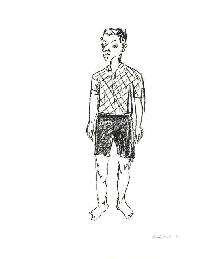 Stephan Balkenhol Harlekin Print Lithograph