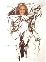 Mel Ramos Thrill #1 Lithografie Grafik