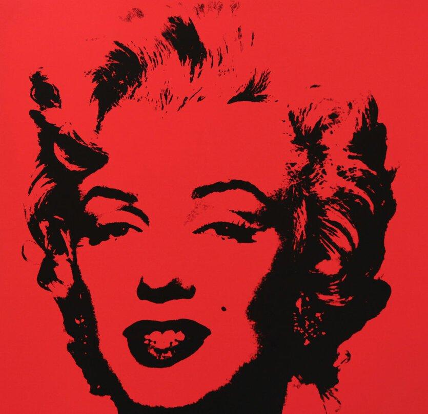 Andy Warhol Golden Marilyn IX Siebdruck Sunday B. Morning