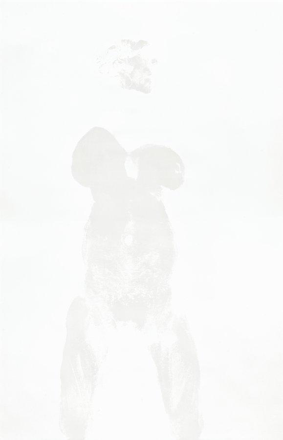 Aura Rosenberg Untitled Body print Grafik Lithographie