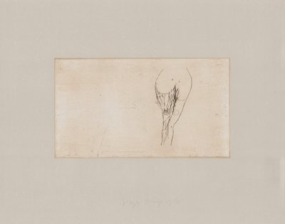 Joseph Beuys Frauentorso Tränen Print