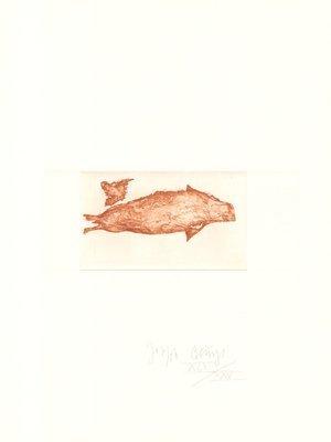 Joseph Beuys Druckgrafik Zirkulationszeit: Meerengel Robbe III