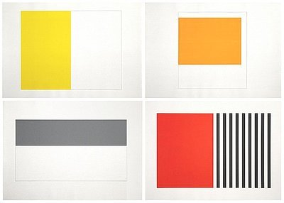Günther Förg Wandmalerei Bern Uniques + Serigraph