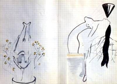 Sigmar Polke Blumentopf Grafik Lithographie