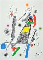 Joan Miro Maravillas 6 Lithographie Grafik