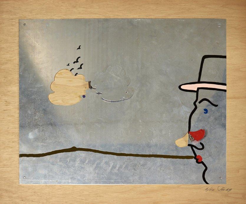 Stefan Wewerka Unique Wolke und Nase
