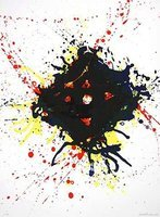 Sam Francis Untitled Original Print Lithograph