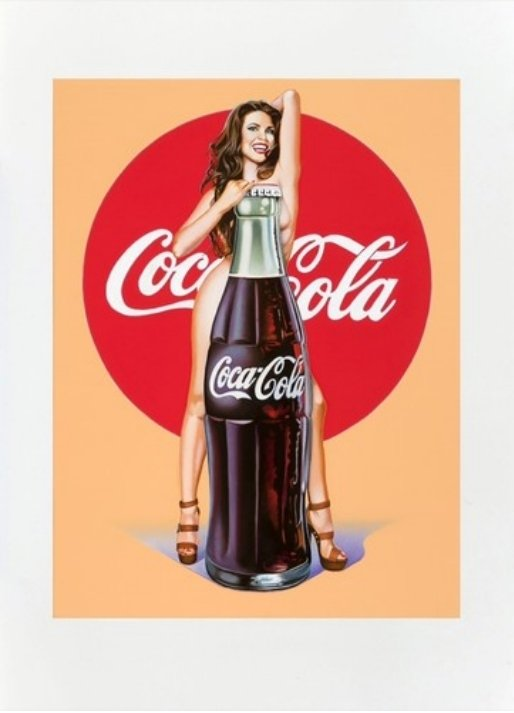 Mel Ramos Lola Cola 5 Lithografie Grafik