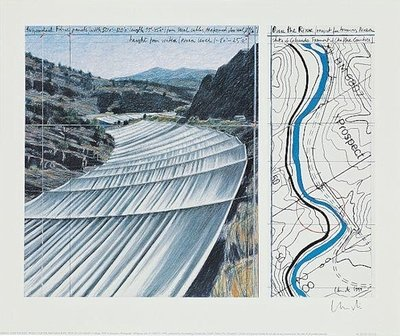 Christo Over The Arkansas River XI Druck