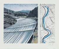 Christo Over The Arkansas River XI Print