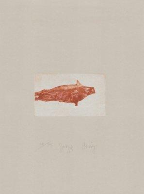 Joseph Beuys Zirkulationszeit: Meerengel Robbe II Grafik