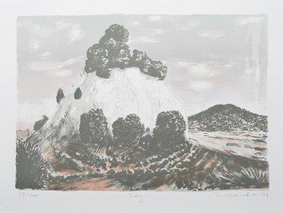 Matthias Weischer Berg Print Color Lithograph
