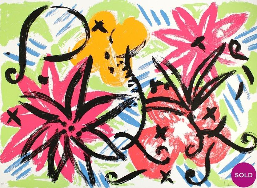 Stefan Szczesny Grafik Dancing Flowers