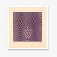 Victor vasarely konjunktion 2 1941 small