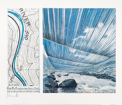 Christo Print Over the River