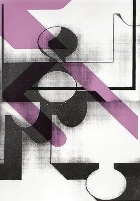 Anne Neukamp Puzzle Grafik Lithographie