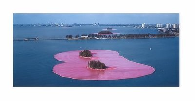 Christo und Jeanne-Claude Surrounded Islands Miami Fotografie