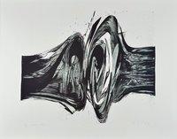Karl Otto Götz Lithographie Grafik Bram