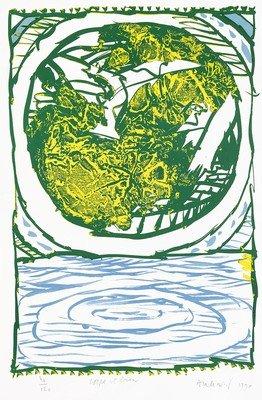 Pierre Alechinsky Print Lithograph Corps et biens