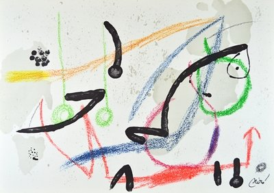 Joan Miro Maravillas 7 Lithograph Print