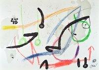 Joan Miro Maravillas 7 Lithographie Grafik