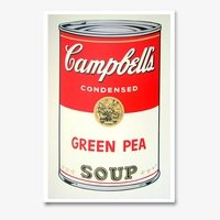 Andy warhol campbells soup green pea sunday b morning 4024 small