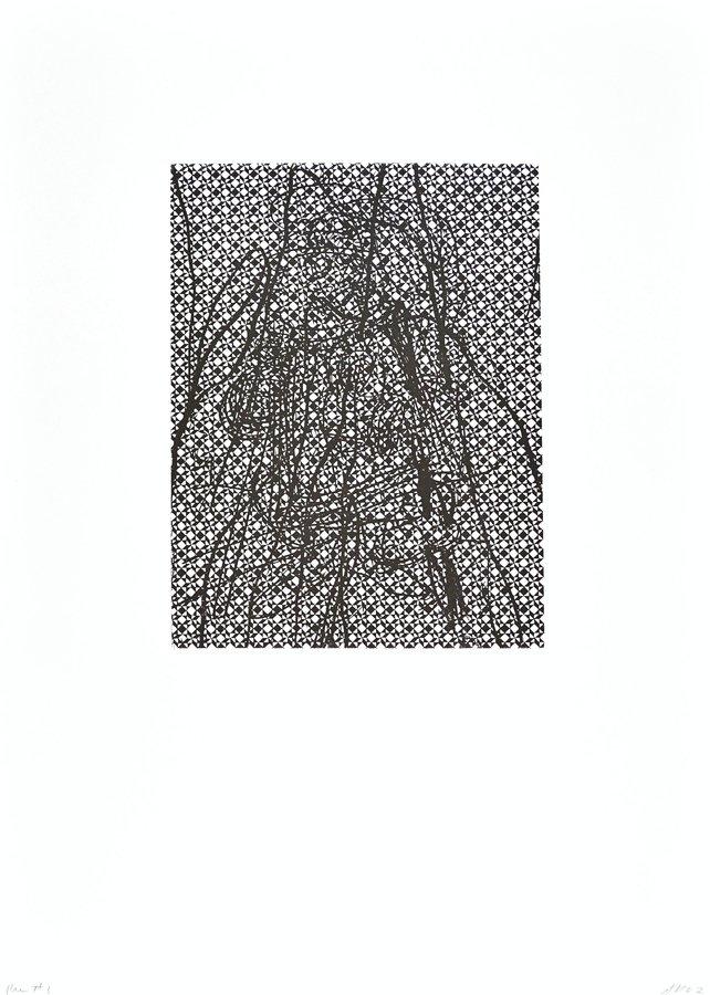 Arturo Herrera Run No. 3 Grafik Radierung