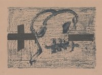 Antoni Tapies Print Llambrec Material VII
