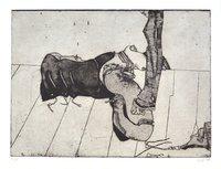 Horst Janssen Etching Print Allure
