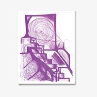 Joanne greenbaum untitled purple 3409 small