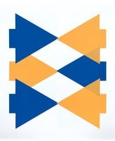 Clara Brörmann Grafik Lithographie Tangram-Reihe 2