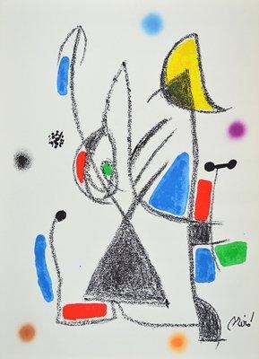 Joan Miro Print Lithograph Maravillas 16
