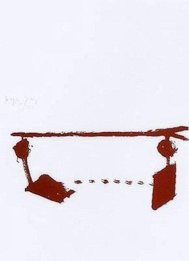 Joseph Beuys Hirschgalvanismus Siebdruck Grafik