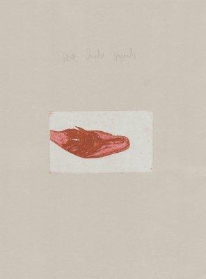 Joseph Beuys Zirkulationszeit: Meerengel Spermwal Druckgrafik