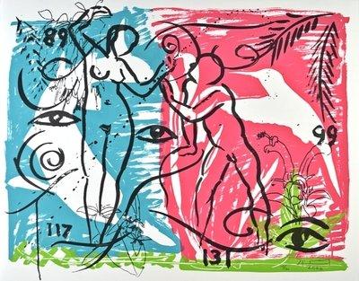 Stefan Szczesny SerigraphThe Living Planet I