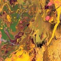 Gerhard Richter P7 Flow Giclee Druck Faksimile Edition