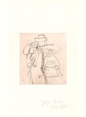 Joseph Beuys Zirkulationszeit: Die Mütter Grafik