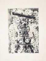 Tony Cragg Aquatinta Etching Original Print