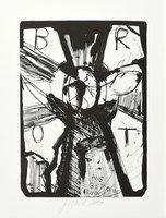 Jonathan Meese Die Insektengöttin Lithograph Print