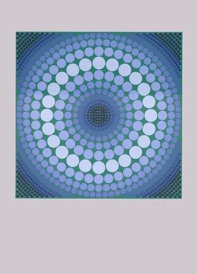 Victor Vasarely Serigraphie Ara