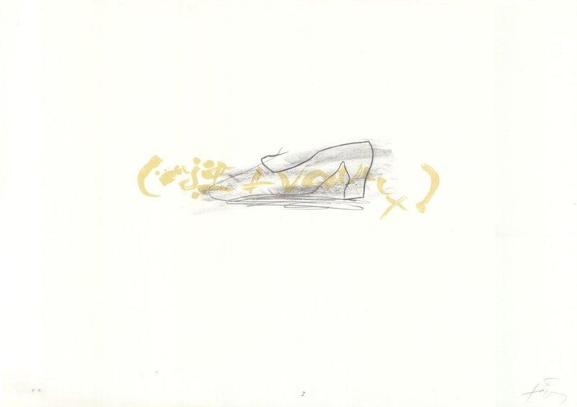 Antoni Tapies Druck Grafik Kleiner Schuh - Suite III