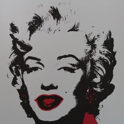 Andy Warhol Golden Marilyn II Siebdruck Sunday B. Morning