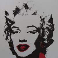 Andy Warhol Golden Marilyn II Serigraph Sunday B. Morning