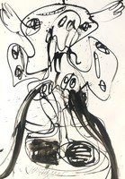 Walter Stöhrer Drawing Untitled VIII 1995