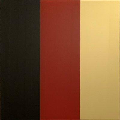 Gerhard Richter Schwarz-Rot-Gold IV Print Serigraph