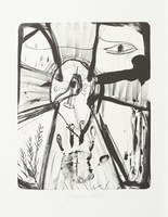 Jonathan Meese Der Isisgott Lithograph Print