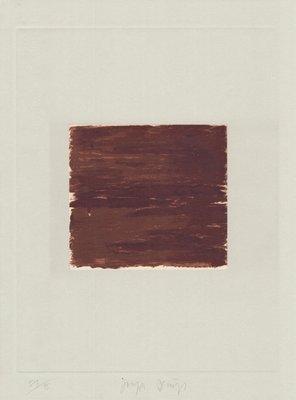 Joseph Beuys Original Druckgrafik Schwurhand: Lumen